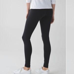Lululemon Black Wunder Under Full length leggings